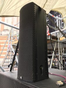 AC Sound Hire. High Quality loudspeaker